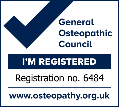 General Osteopathic Council Registration 6484